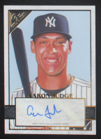 Aaron Judge 2020 Topps Gallery Autographs #100 at PristineAuction.com