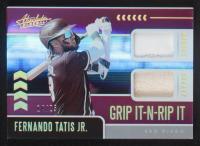 Fernando Tatis Jr. 2020 Absolute Grip It-N-Rip It Materials Spectrum Purple #3 #14/25 at PristineAuction.com