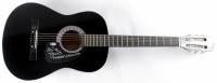 """Mick Jones Signed Full-Size Acoustic Guitar Inscribed """"London Calling"""" (Beckett COA) at PristineAuction.com"""