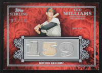 Ted Williams 2008 Topps Sterling Career Stats Relics Triple #3CS65 #7/10 at PristineAuction.com
