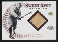 Ty Cobb 2001 Sweet Spot Game Bat #BTC at PristineAuction.com
