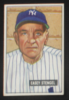 Casey Stengel 1951 Bowman #181 MG at PristineAuction.com