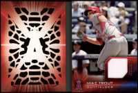 Mike Trout 2016 Topps Laser Relics #TLRMT #74/99 at PristineAuction.com