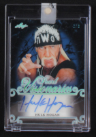 Hulk Hogan 2018-19 Leaf Pearl Visionaries Signatures Platinum Spectrum Holofoil #PVHH1 #2/3 at PristineAuction.com