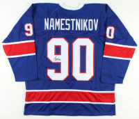 Vladislav Namestnikov Signed Jersey (JSA COA) at PristineAuction.com