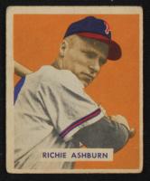 Richie Ashburn 1949 Bowman #214 RC at PristineAuction.com