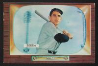 Yogi Berra 1955 Bowman #168 at PristineAuction.com