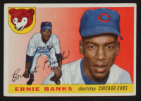 Ernie Banks 1955 Topps #28 at PristineAuction.com