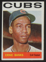Ernie Banks 1964 Topps #55 at PristineAuction.com