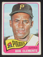 Roberto Clemente 1965 Topps #160 at PristineAuction.com
