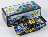 Jimmie Johnson Signed LE #48 Lowe's 2007 Chevy Impala SS COT 1:24 Diecast Car (JSA COA) at PristineAuction.com