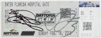 Richard Childress & Austin Dillon Signed 2018 Daytona 500 Ticket (JSA COA) at PristineAuction.com