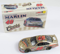 Sterling Marlin Signed LE #40 Coors Original 2002 Intrepid R / T 1:24 Scale Die Cast Car with 1:64 Replica (JSA COA) at PristineAuction.com