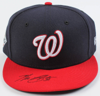 Max Scherzer Signed Nationals New Era 2019 World Series Fitted Baseball Hat (JSA COA) at PristineAuction.com