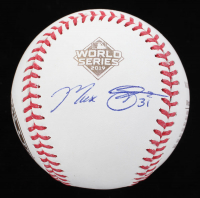 Max Scherzer Signed Official 2019 World Series Baseball (JSA COA) at PristineAuction.com