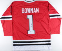 Stan Bowman Signed Jersey (Beckett COA) at PristineAuction.com