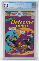 "1975 ""Detective Comics"" Issue #454 DC Comic Book (CGC 7.5) at PristineAuction.com"