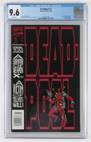 "1993 ""Deadpool"" Issue #1 Marvel Comic Book (CGC 9.6) at PristineAuction.com"