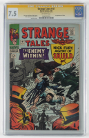 "Stan Lee Signed 1966 ""Strange Tales"" Issue #147 Marvel Comic Book (CGC 7.5) at PristineAuction.com"