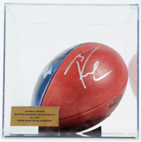 "Russell Wilson Signed NFL ""The Duke"" Photo Football with Display Case (JSA COA & Wilson Hologram) at PristineAuction.com"