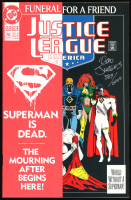 "Dan Jurgens Signed LE 1993 ""Justice League"" #70 DC Comic Book (Dynamic Forces COA) at PristineAuction.com"
