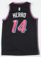 Tyler Herro Signed Heat Jersey (JSA COA) at PristineAuction.com
