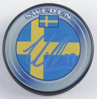 Victor Hedman Signed Team Sweden Logo Hockey Puck (Hedman COA) at PristineAuction.com