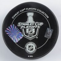 """Victor Hedman Signed 2020 Stanley Cup Champions Logo Hockey Puck Inscribed """"Party In The Bay"""" (Hedman COA) at PristineAuction.com"""
