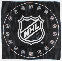 "Victor Hedman Signed 29x29 NHL Flag Inscribed ""2020 Stanley Cup Champs"" & ""2020 Conn Smythe"" (Hedman COA) at PristineAuction.com"
