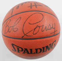 "NBA Basketball Signed by (4) with Bob Cousy, Tom Heinsohn, Nate ""Tiny"" Archibald, & Bill Sharman (JSA COA) at PristineAuction.com"
