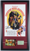 "Disneyland Frontierland ""Country Bear Jamboree"" 15.26.5 Custom Framed Vintage Postcard Display with Vintage 1960's Ticket & Vintage Photo at PristineAuction.com"
