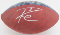 Russell Wilson Signed Seahawks Logo NFL Football (PSA COA & Wilson Hologram) at PristineAuction.com