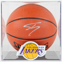 Shaquille O'Neal Signed NBA Game Ball Series Basketball With Logo Display Case (PSA Hologram) at PristineAuction.com