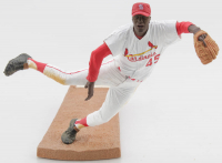 Bob Gibson Cardinals Painted Statue at PristineAuction.com