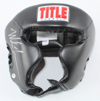 Mike Tyson Signed Title Boxing Sparring Helmet (PSA COA) at PristineAuction.com