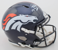 Peyton Manning Signed Broncos Full-Size Authentic On-Field Speed Helmet (Fanatics Hologram) at PristineAuction.com