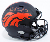 Bill Romanowski Signed Broncos Full-Size Eclipse Alternate Speed Helmet (Beckett COA) at PristineAuction.com
