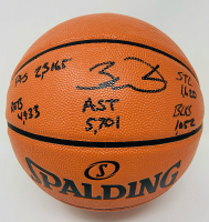 Dwayne Wade Signed LE NBA Game Ball Series Basketball with (5) Career Stat Inscriptions (Fanatics Hologram) at PristineAuction.com