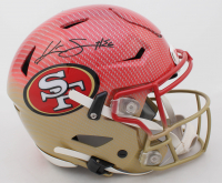 Kwon Alexander Signed 49ers Full-Size Authentic On-Field Hydro-Dipped SpeedFlex Helmet (JSA COA) at PristineAuction.com