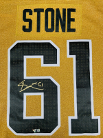 Mark Stone Signed Golden Knights Jersey (Fanatics Hologram) at PristineAuction.com