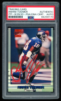 Amani Toomer Signed 1996 Stadium Club #334 SP RC (PSA Encapsulated) at PristineAuction.com