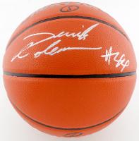 Derrick Coleman Signed Game Ball Series Basketball (JSA COA) at PristineAuction.com