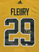 Marc Andre-Fleury Signed Golden Knights Jersey (Fanatics Hologram) at PristineAuction.com
