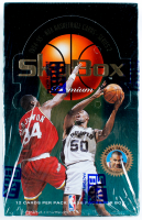 1994-95 Skybox Premium NBA Basketball Series 2 Box of (36) Packs at PristineAuction.com