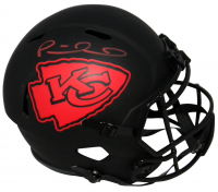 Patrick Mahomes II Signed Chiefs Full-Size Eclipse Alternate Speed Helmet (Fanatics Hologram) at PristineAuction.com