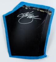 Kurt Busch Signed Race-Used Panel Sheet Metal (JSA COA) at PristineAuction.com