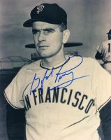Gaylord Perry Signed Giants 8x10 Photo (Sportscards.com SOA) at PristineAuction.com