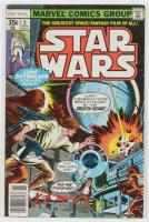 """1977 """"Star Wars"""" Issue #5 Marvel Comic Book at PristineAuction.com"""