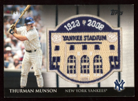 Thurman Munson 2008 Topps All-Star FanFest Patch #3 at PristineAuction.com