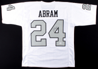 Johnathan Abram Signed Jersey (JSA COA) at PristineAuction.com